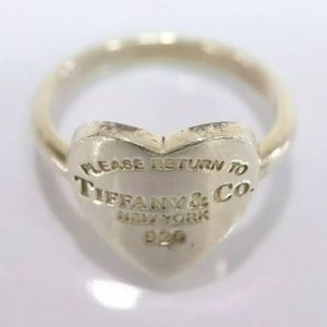 Authentic Return to Tiffany & Co. 925 Size 5 Ring